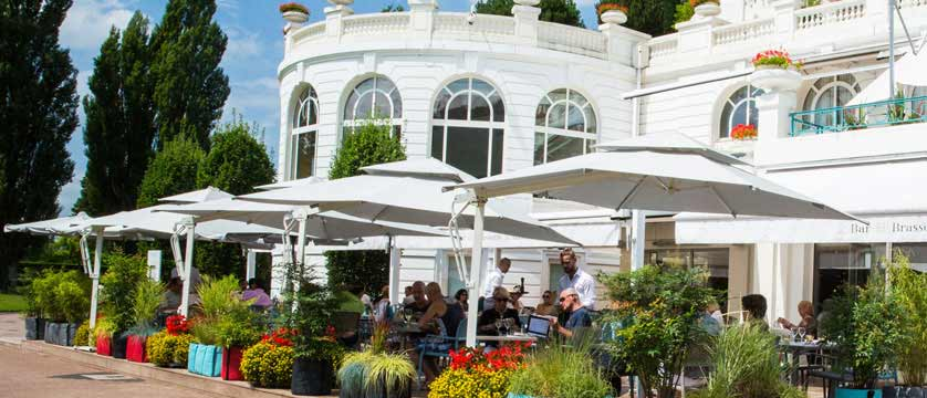 Hotel Imperial Palace, Talloires, Lake Annecy, France - brasserie exterior.jpg